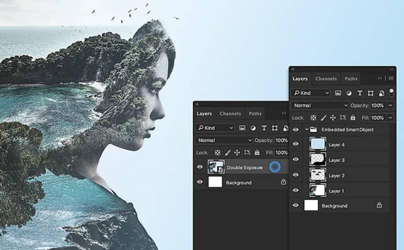 capas y edicion en photoshop