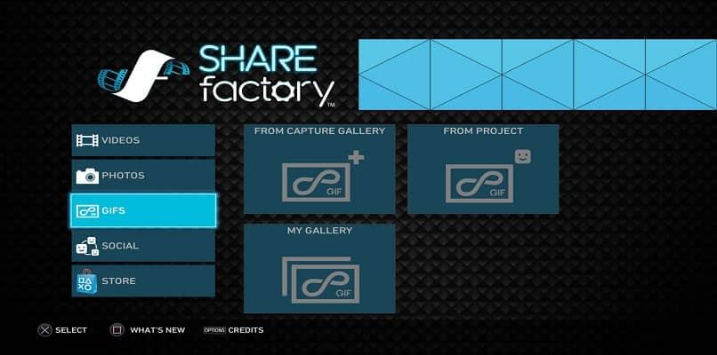 sharefactory app inicio