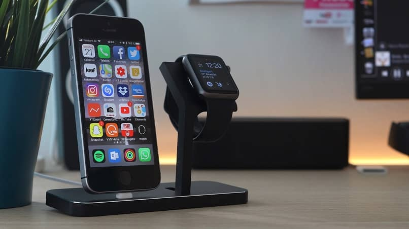 smartwatch y iphone