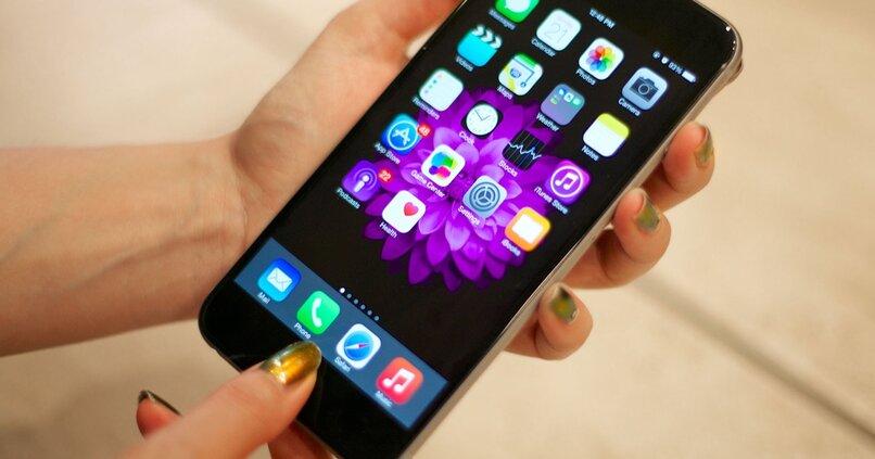 dispositivo iphone apple
