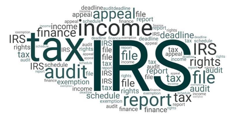 tassa di pagamento IRS US