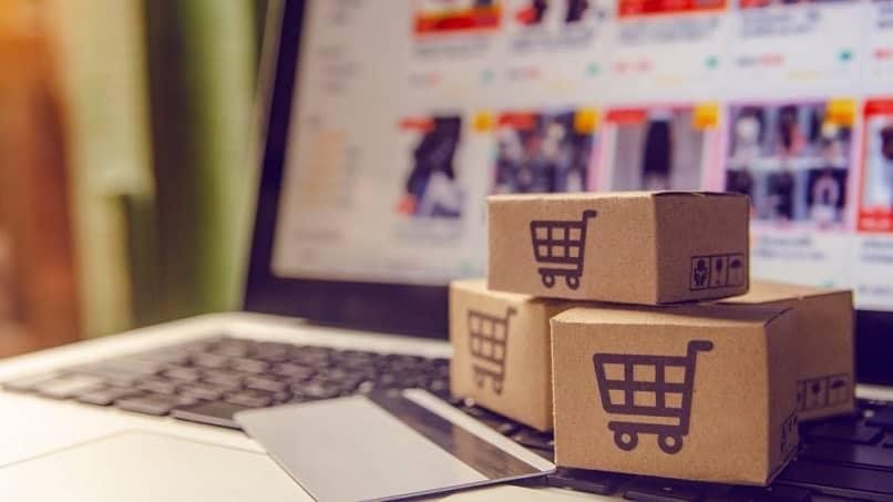 laptop tarjeta comprar productos tienda virtual