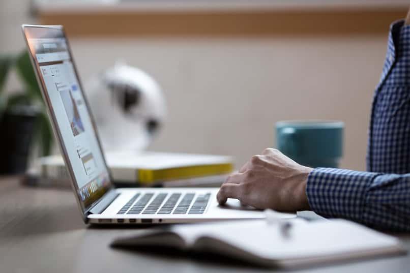 persona consultado por internet desde su laptop el estado civil de una persona