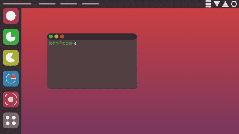 grupo linux en pantalla