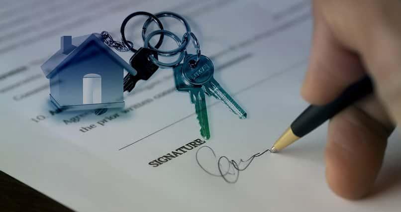 llaves e historial de una casa