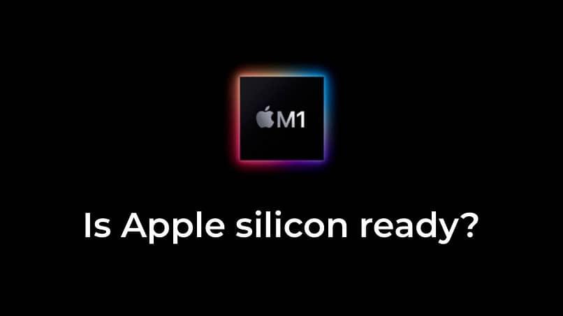 logo de apple silicon m1
