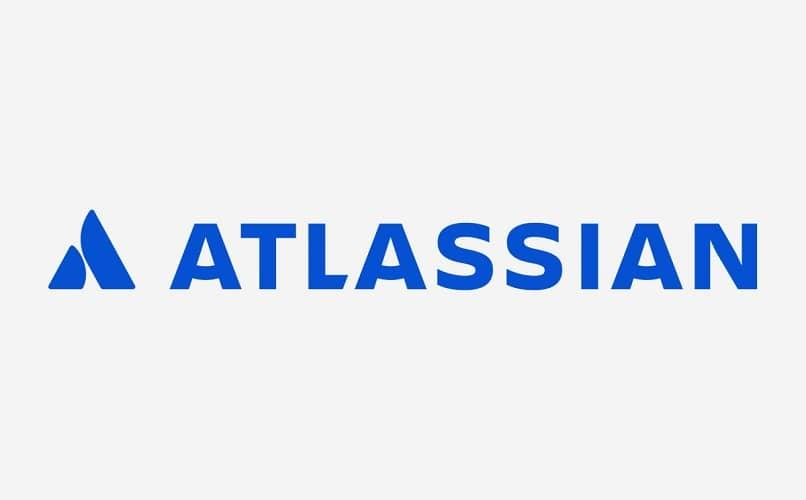 fondo blanco atlassian azul