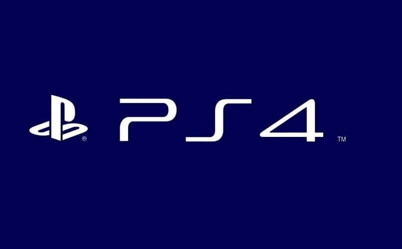 ps4 letras y logo