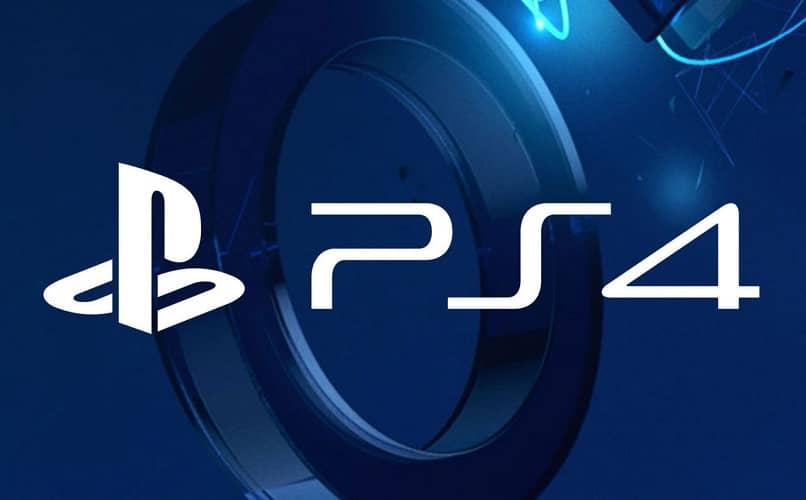 playstation 4 logo de marca