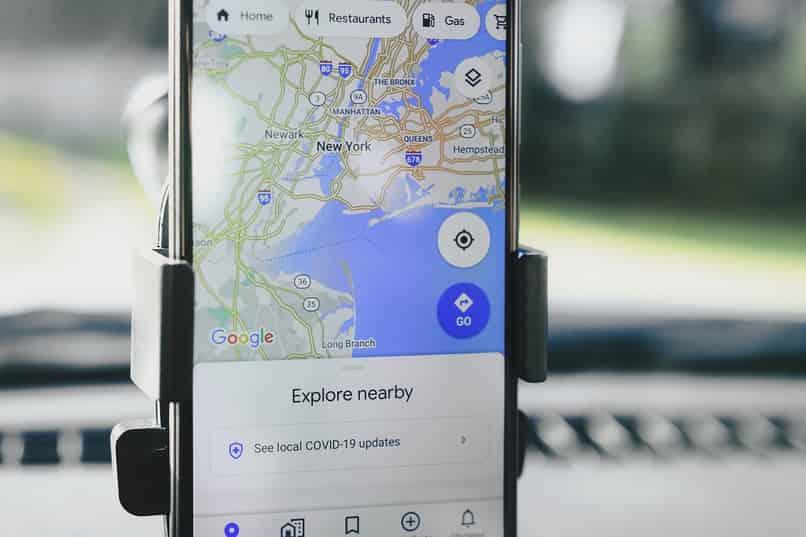 flecha por un carro en google maps cambiar icono