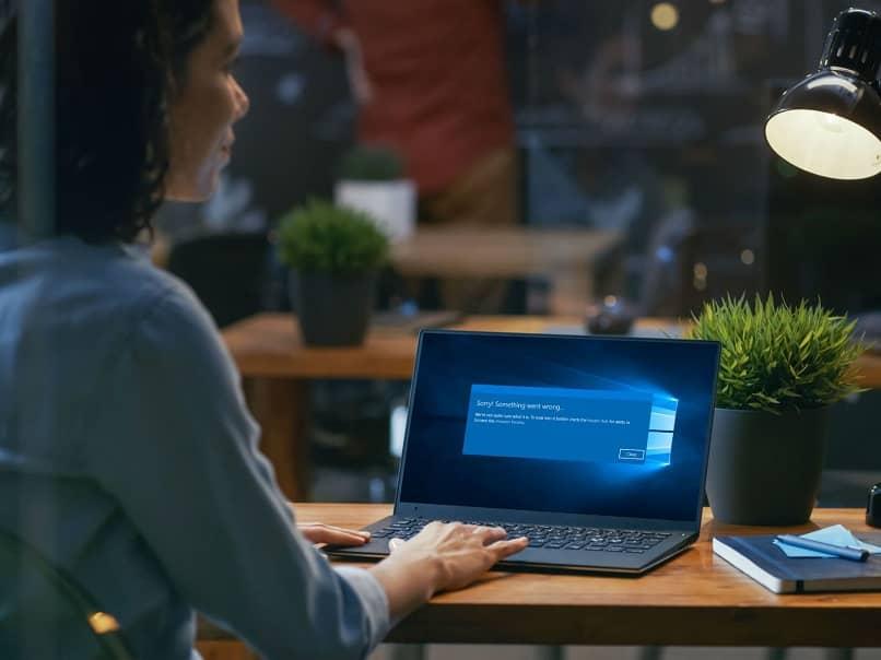 error windows laptop