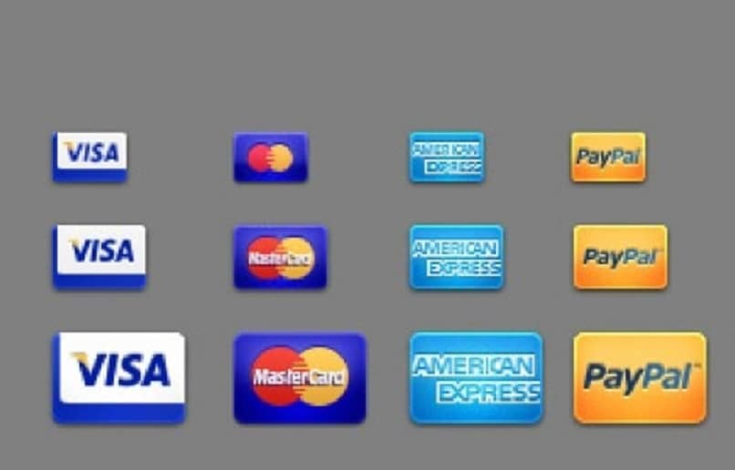 diversos metodos de pago