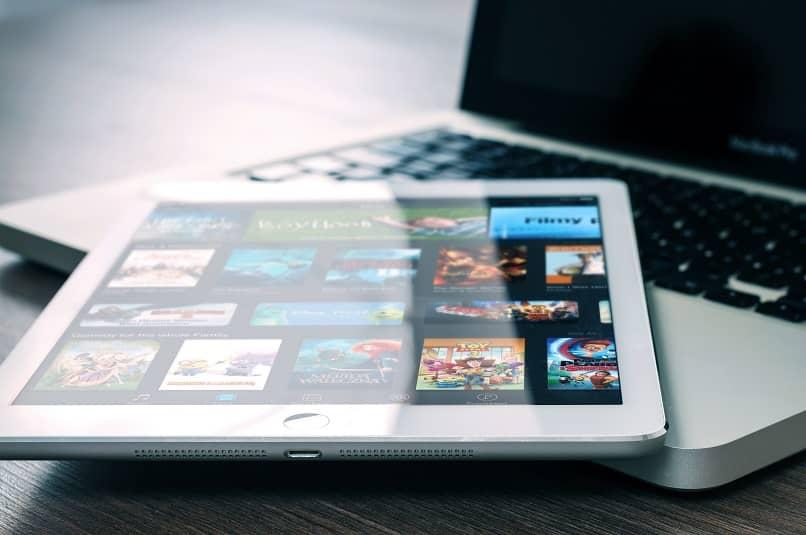 opciones mitele plus en tablet