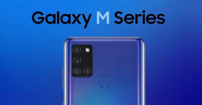 celular modelo de la serie m de samsung