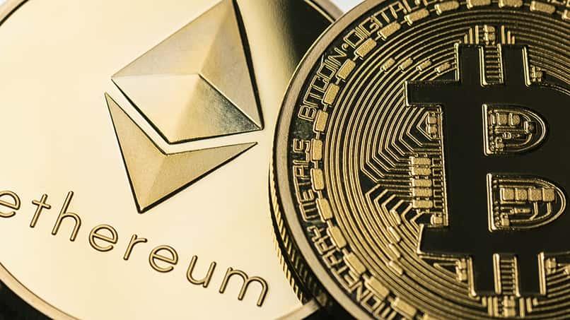 monedas electronicas bitcoin y ethereum
