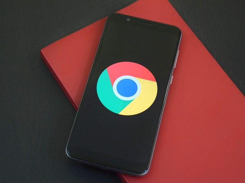 movil con icono de google