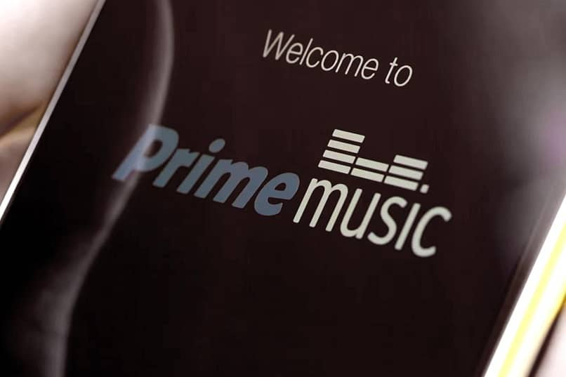 prime music en un movil