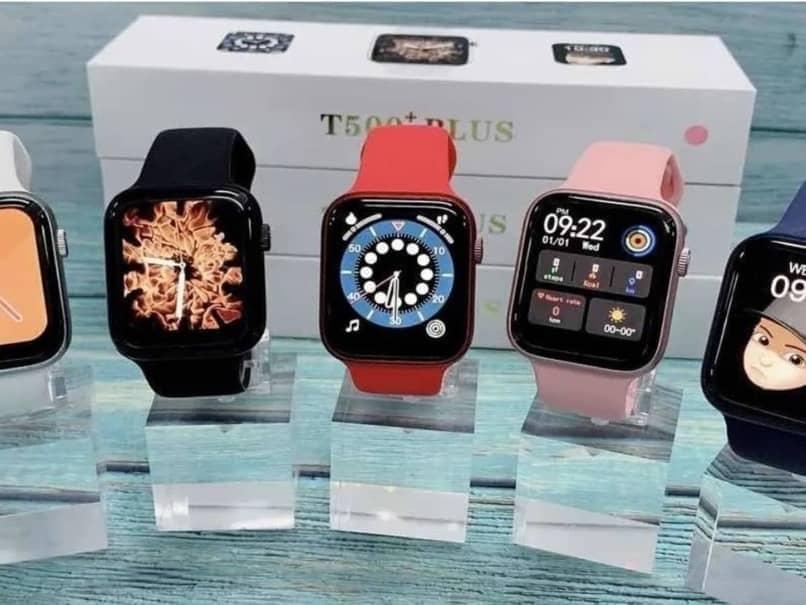 smartwatch t500 varios