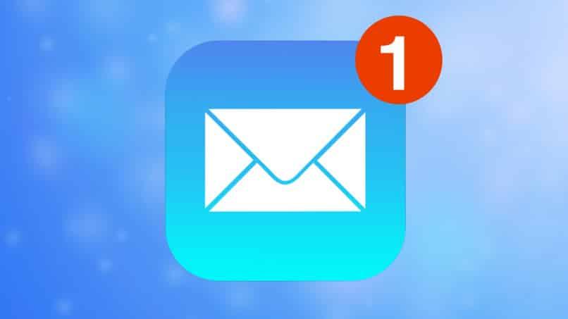 correo electronico en iphone ipad notificacion