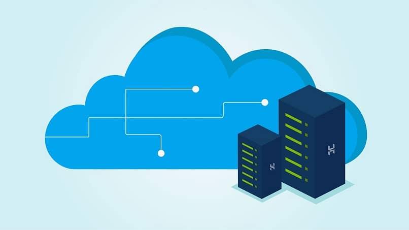 servicio en la nube digital