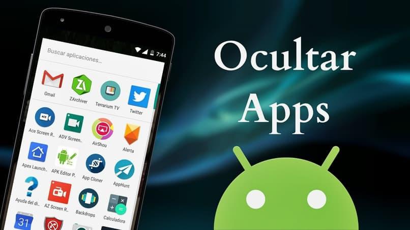 ocultar apps en android