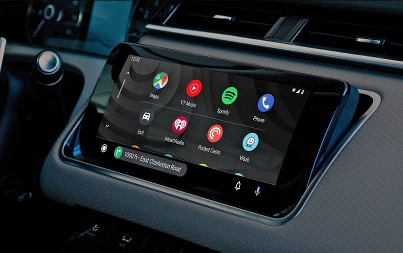 panel tactil android auto