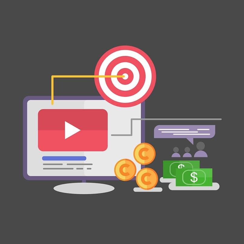 pantalla de youtube monedas y billetes