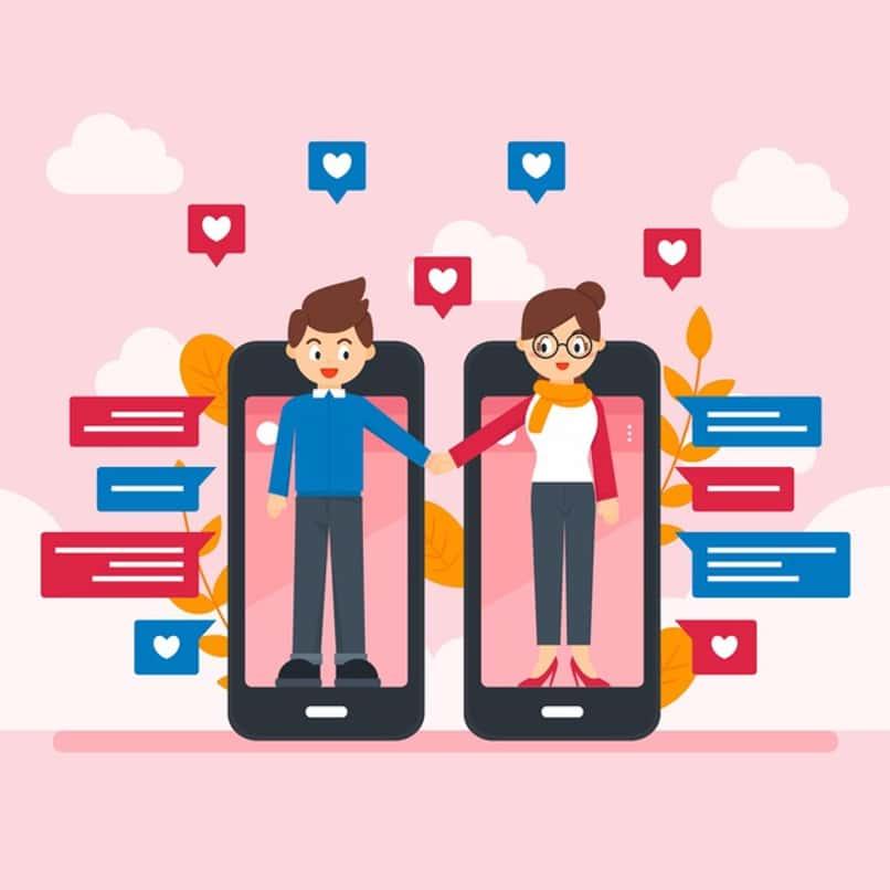 pareja hace match en aplicacion