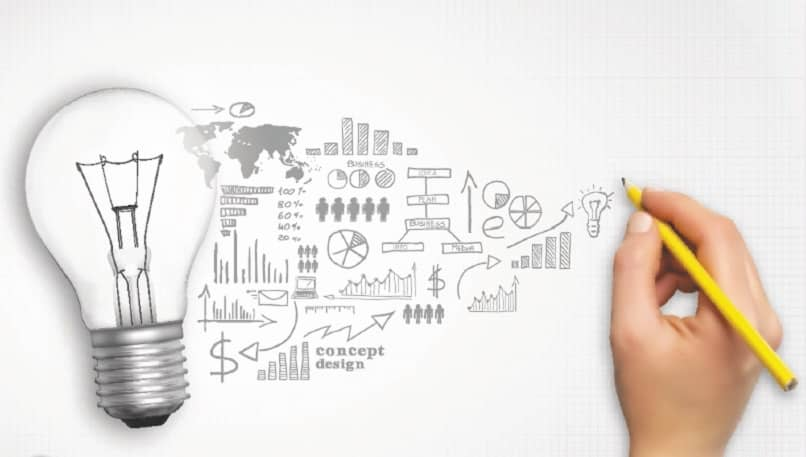 persona lapiz escribir ideas desarrollar empresa