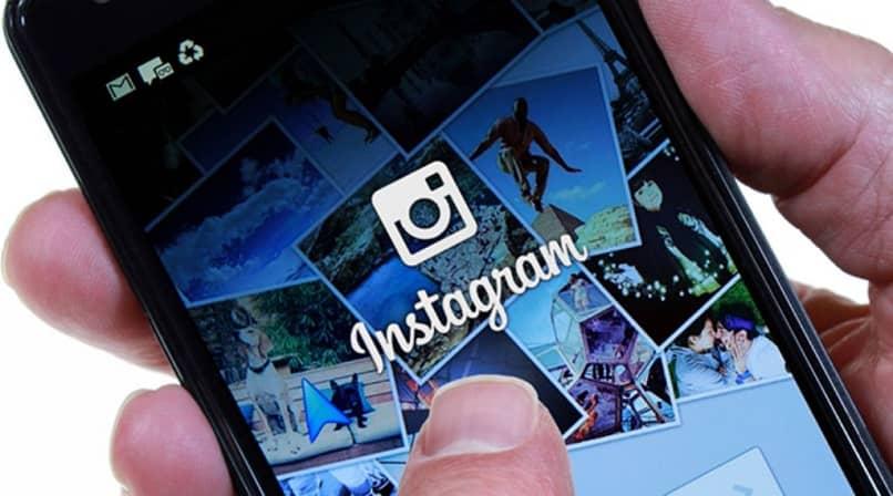 usuario intentando ingresar a instagram