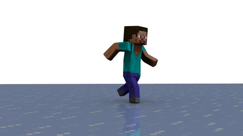 imagen de steve personaje de minecraft