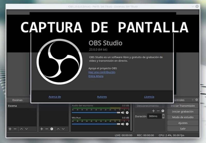 descargar software obs studio