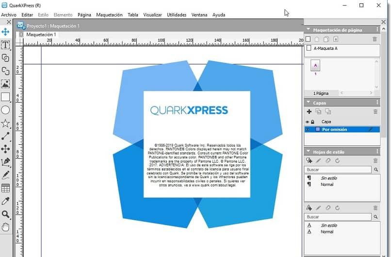 hacer una portada con quarkxpress