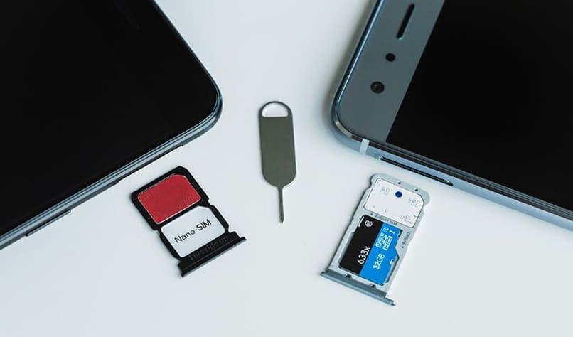 SIM tray slot for phone