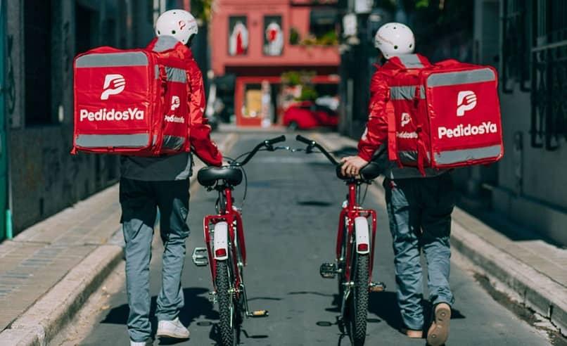 realizar delivery en bicicleta pedidos ya