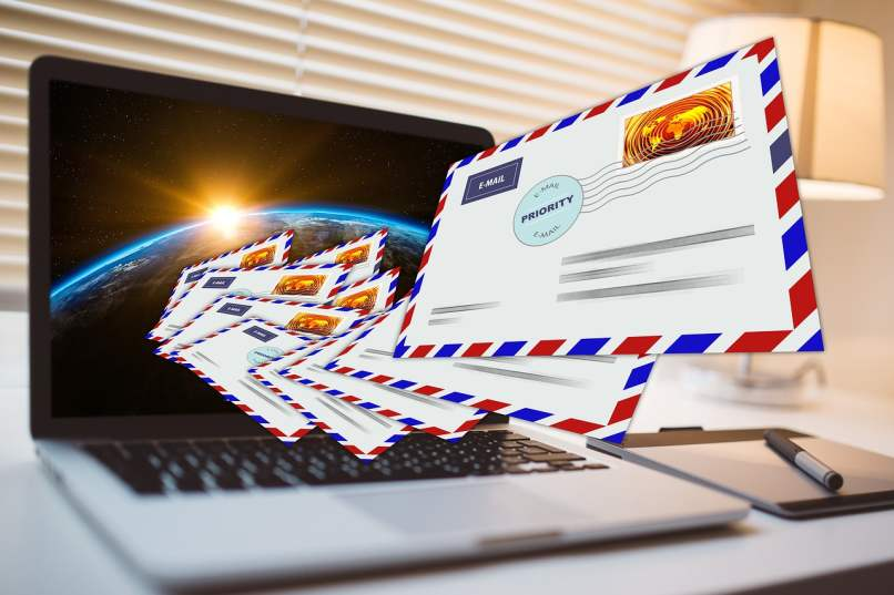 recibir muchos correos electronicos