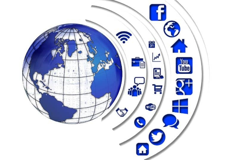 internet redes sociales