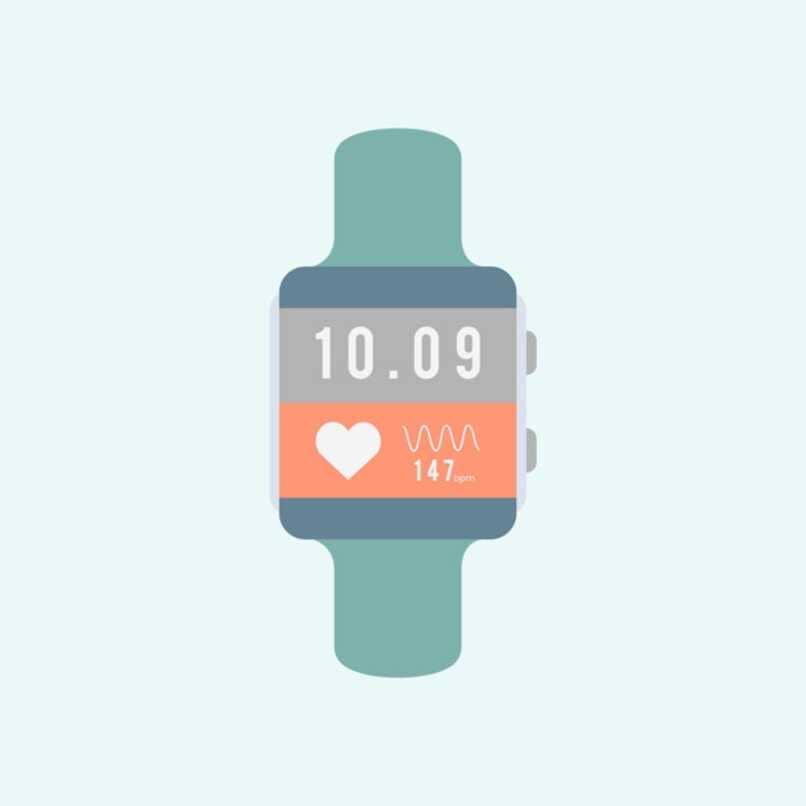 ritmo cardiaco pulso reloj