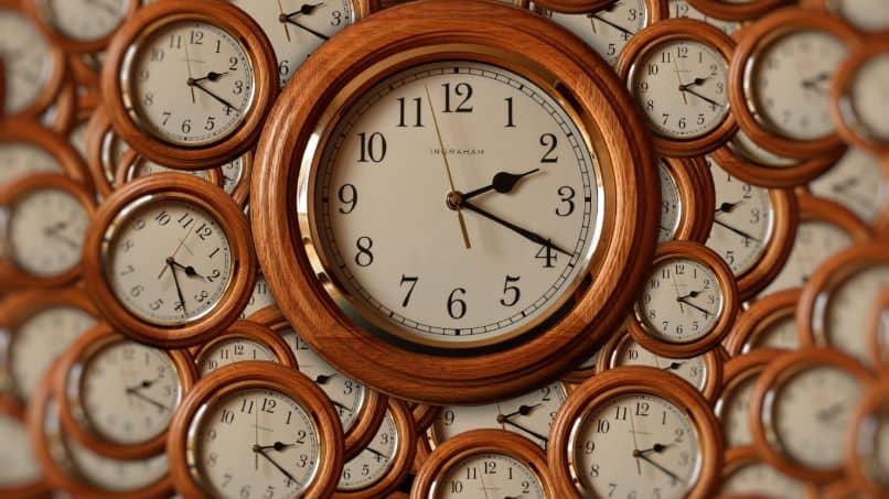 relojes analogos