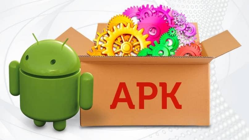 representacion grafica de apks en android