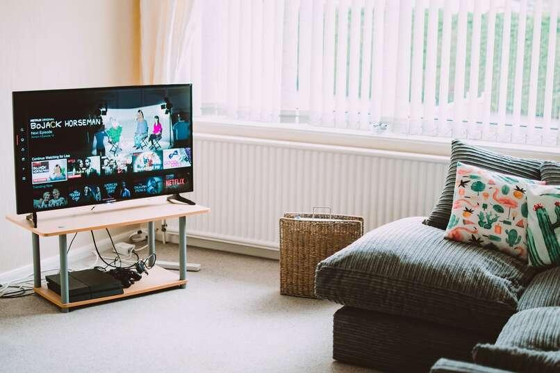 sala smart tv