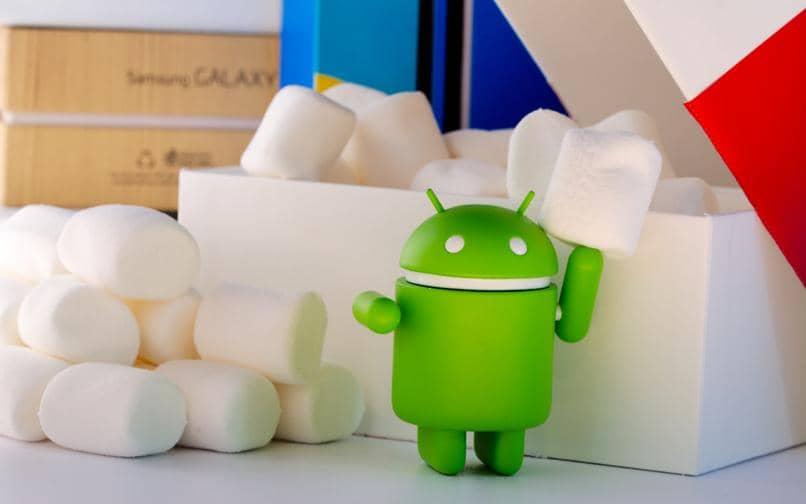 mascota android juguete