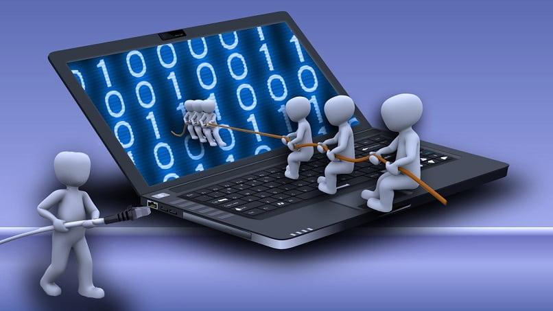 programas ejecutandose para que el software funcione