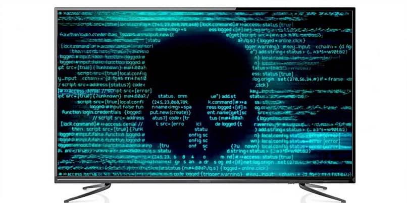 smart tv infectado con virus