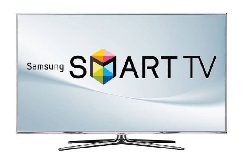 pantalla smart tv logo samsung
