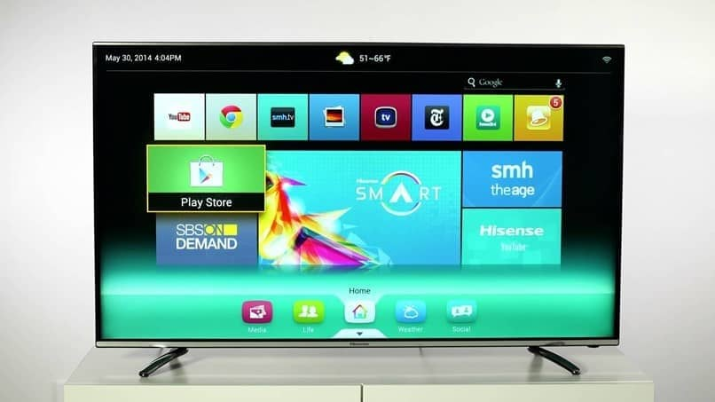smart tv viene con sistema operativo tizen