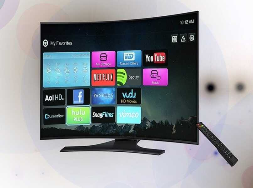 interfaz de sistema operativo smart tv