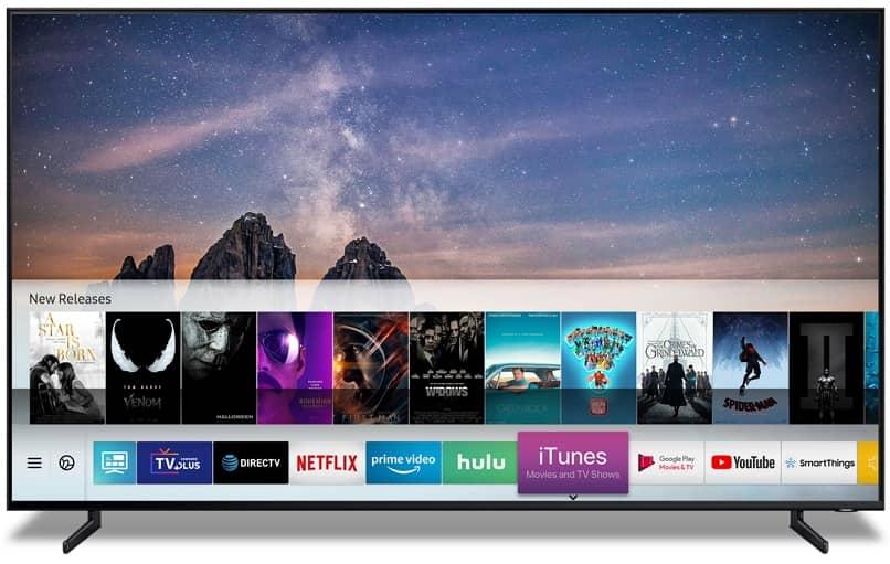 smart tv pantalla principal