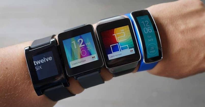 usuario varios smartwatch