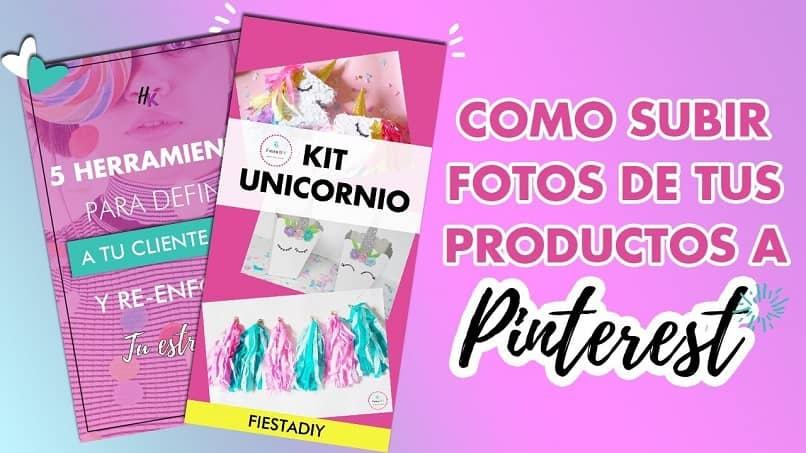 subir productos imagenes pinterest